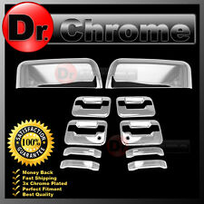 09-14 Ford F150 Chrome TOP HALF Mirror+4 Door Handle+no keypad+PSG keyhole Cover