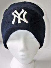 VERY WARM HEADWEAR  NY IN BLU AND WHITE