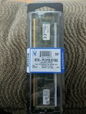 Kingston KTH-PL313LV/16G        16GB DDR3 SDRAM Memory Module.    New!