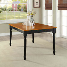 Dining Table Wood Kitchen Modern Farmhouse Room Office Desk Home Furniture Decor