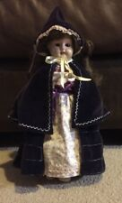 """Antique 10"""" Composition Doll Kid Leather Body"""