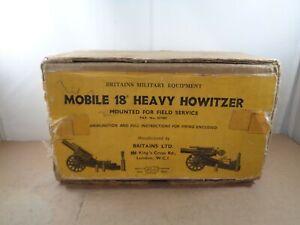 Britains no.9740 Heavy Howitzer Original Empty Box Only.Vintage Item