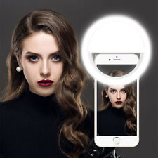 Selfie Portable LED Light Ring Fill Camera Flash For Apple iPhone Sumsung HTC