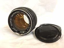 ★★ Lichtriese ★★ Olympus OM G.Zuiko 1,4 50mm Objektiv a.f. Canon NEX Sony mFT