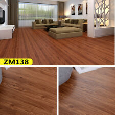 Self Adhesive Vinyl Floor Tiles Grey Wood Effect Wooden Bathroom Kitchen Lino