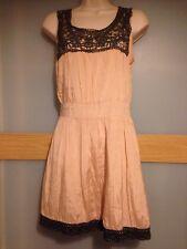 Asos Women's Beige Viscose Dress Size 10
