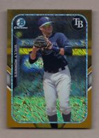 2015 Bowman Chrome WILLY ADAMES Gold Mini Refractor 18/50 Mint Farm's Finest