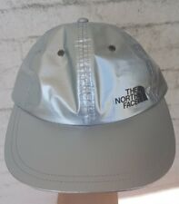 Supreme  / The North Face  Metallic 6-Panel hat silver SS18 6 panel