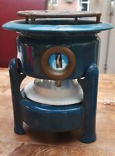 Vintage Enamel paraffin Camping Stove Camp Burner Tool Portable Petrol Blue