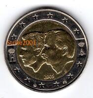 2 EURO COMMEMORATIVO BELGIO 2005 Fdc RARO !!!!!