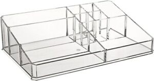 Greenco Acrylic 9 Compartment Vanity Holder Jewelry Storage Organizer