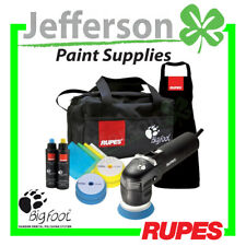 NEW RUPES BIGFOOT LHR75E MINI RANDOM ORBITAL POLISHER SYSTEM / CAR BUFFER