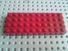 Lego Ladrillo 4x10 [6212] Rojo Oscuro x1