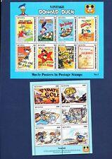 GUYANA DISNEY - Sc 2769-80 - VFMNH S/S - Donald's Movie Posters - 1993 - 6 scans