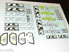 TLR04005 TEAM LOSI RACING 8IGHT-T 4.0 RACE TRUGGY DECALS SET