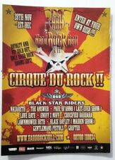 PAUL DI ANNO BLAZE BAYLEY Cirque Du Rock 2013 magazine ADVERT/ Poster 11x8 inch