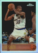 1996-97 Topps Chrome Refractors Basketball Card #95 Joe Smith