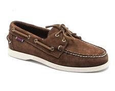 Mens Sebago Docksides Portland Suede Deck Shoes Brown UK 10.5 US 11 EU 45  £115
