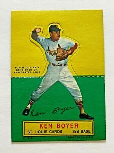1964 Topps Stand Up #10 Ken Boyer