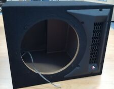 "Rockford Fosgate Punch Car Single 12"" Ported Subwoofer Empty Box (from P1-1X12)"