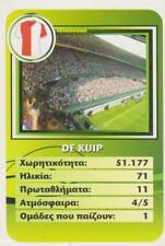 Sporty Greek Tradingcard The Most Beautiful Stadiums in the World 2008 De Kuip