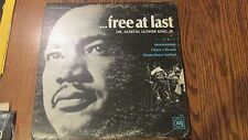 Free At Last Dr. Martin Luther King Jr. record (P)