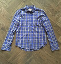 Diesel Plaid Button Front Shirt - Size S Small - Slim Fit