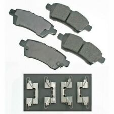 Rr Ceramic Brake Pads  Akebono  ACT1101