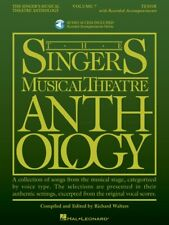 The Singer's Musical Theatre Anthology Volume 7 Tenor Book and Audio 000293735