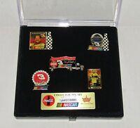 Dale Earnhardt #3 NASCAR Racing Aminco Coca-Cola Collector Pin Set