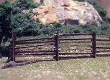 Osborn Models HO  LOG FENCE  (10) 10' Sections or 80 Logs  NEW KIT RRA1082