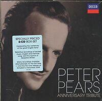 Peter Pears Anniversary Tribute 6-disc CD box NEW Britten Schubert Warlock