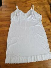 Dixie Belle Textiles Full Dress White Slip Size 52 Lace