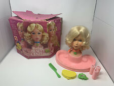 1974 Quick Curl Barbie Beauty Center Mattel with Box Accessories USA