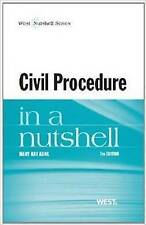 Civil Procedure in a Nutshell by Mary Kay Kane (Paperback, 2013) 7th Edition U.S