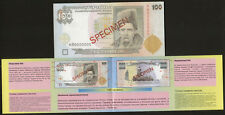 Ukraine Buklet to issue first currency 100 Hryvna 1996