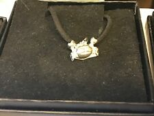 """Crab TG153 English Pewter On 18"""" Black Cord Necklace"""