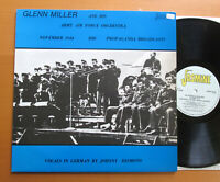 Glenn Miller Army Air Force Orchestra BBC Propaganda Broadcasts 1944 JASM 2504