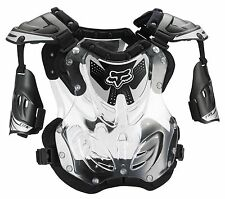 Fox Racing 2017 R3 Roost Deflector Chest Protector Motocross Black SIZE MEDIUM