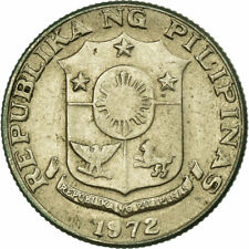 [#703732] Coin, Philippines, 10 Sentimos, 1972, VF, Copper-nickel, KM:207