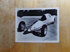 Vintage NHRA Drag Racing Original Photo-Walt Arfons-STP Jet Dragster/Streamliner
