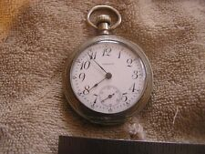 Antique Waltham P. S. Bartlett 17 Jewels  Pocket Watch Great Case