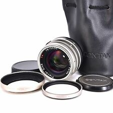 [ Excellent+++ ] Carl Zeiss Planar 45mm f/2 for CONTAX G1/G2 with Lens Case