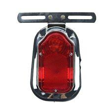 Tombstone Brake Tail Light For Honda Kawasaki Suzuki Yamaha Chopper Cruiser FL