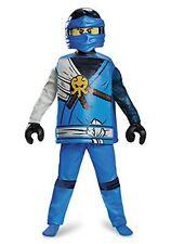 Disguise Jay Deluxe Ninjago Lego Costume, Medium/7-8