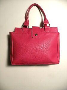 Women's Unbranded Tote Purse Top Handle Hot Red Alligator Feel Handbag