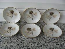 6 COUPELLES Porcelaine ROSENTHAL 8,5 cm diamètre