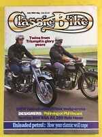 CLASSIC BIKE - July 1983 - 500cc BSA Shooting Star - Restoring Gearbox