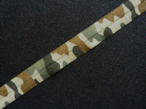 black green brown Camouflage Sew on Elastic Lace Ribbon Trim suitable for crafts
