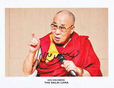 THE DALAI LAMA original AUTOGRAPH 8x10 signed photo